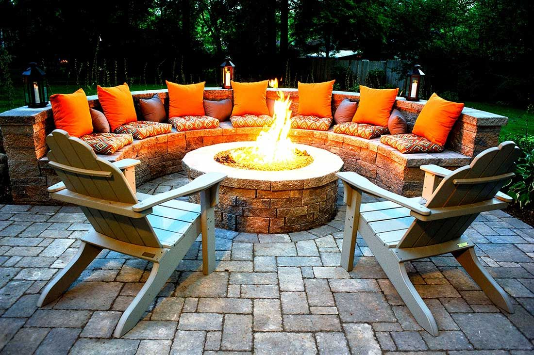 Outdoor Fire Pits-Midland TX Professional Landscapers & Outdoor Living Designs-We offer Landscape Design, Outdoor Patios & Pergolas, Outdoor Living Spaces, Stonescapes, Residential & Commercial Landscaping, Irrigation Installation & Repairs, Drainage Systems, Landscape Lighting, Outdoor Living Spaces, Tree Service, Lawn Service, and more.